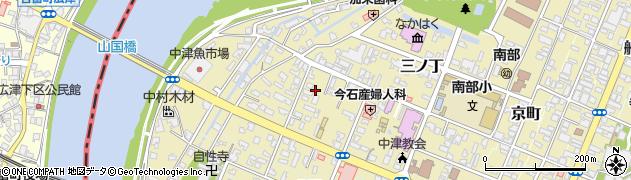 大分県中津市片端町周辺の地図