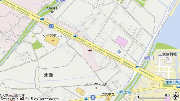大分県中津市大塚564周辺の地図
