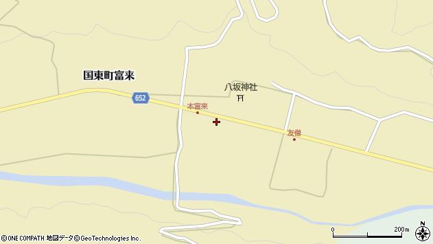 大分県国東市国東町富来2306周辺の地図