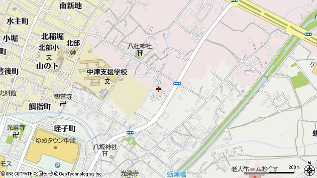 大分県中津市大塚549周辺の地図