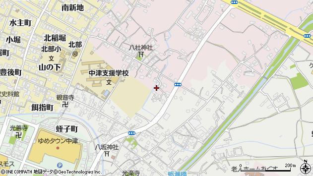 大分県中津市大塚550周辺の地図