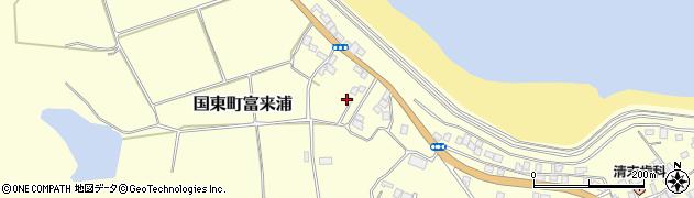 大分県国東市国東町富来浦1077周辺の地図