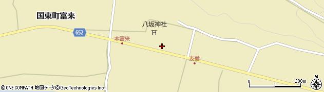 大分県国東市国東町富来503周辺の地図