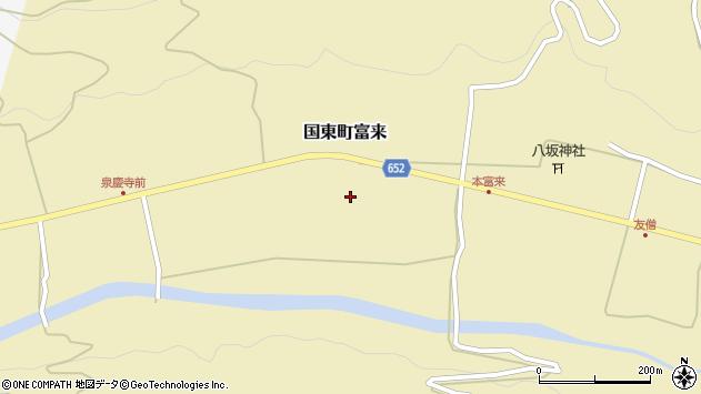 大分県国東市国東町富来2265周辺の地図