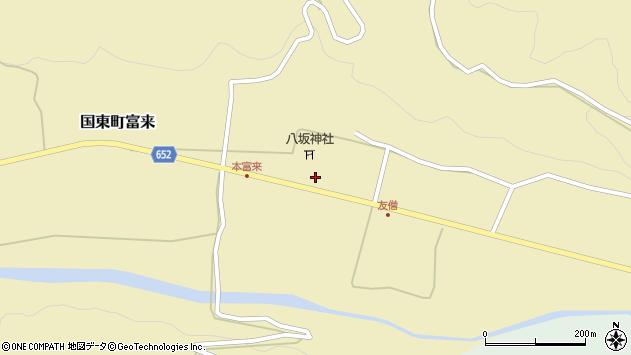 大分県国東市国東町富来855周辺の地図