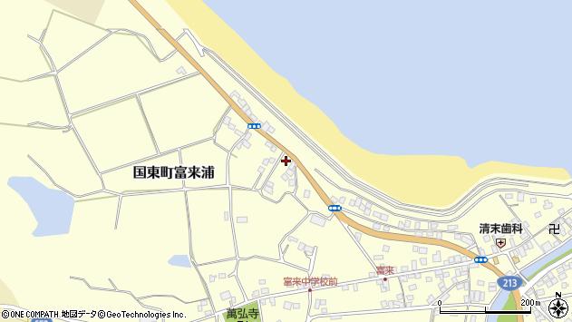 大分県国東市国東町富来浦1060周辺の地図