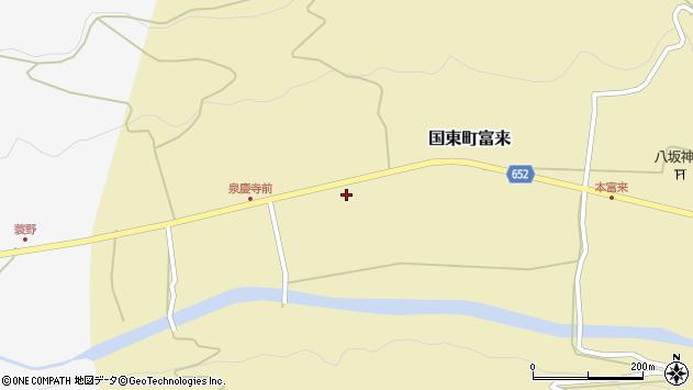 大分県国東市国東町富来2121周辺の地図