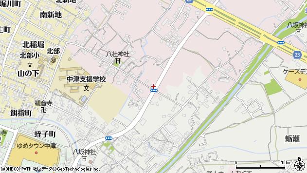 大分県中津市大塚547周辺の地図