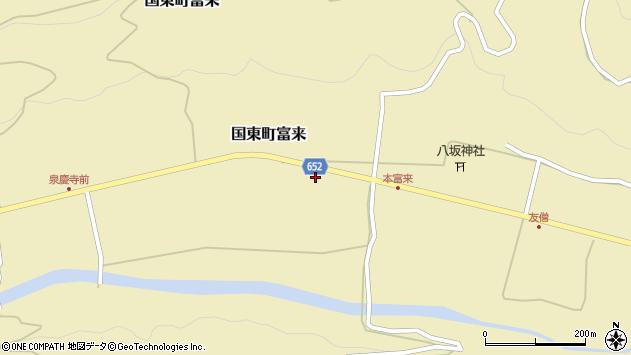 大分県国東市国東町富来2271周辺の地図