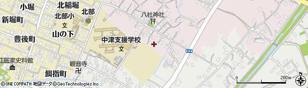 大分県中津市大塚78周辺の地図
