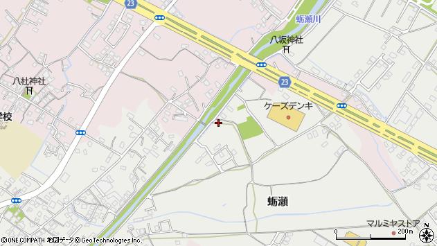 大分県中津市蛎瀬1026周辺の地図
