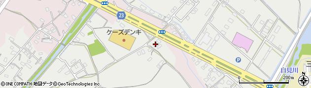 大分県中津市蛎瀬1112周辺の地図