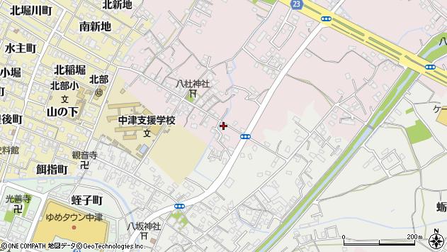 大分県中津市大塚438周辺の地図