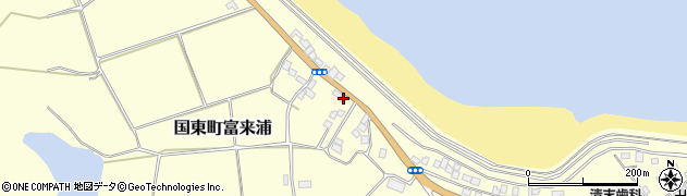 大分県国東市国東町富来浦1062周辺の地図