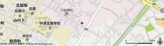大分県中津市大塚437周辺の地図