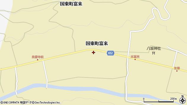 大分県国東市国東町富来2148周辺の地図