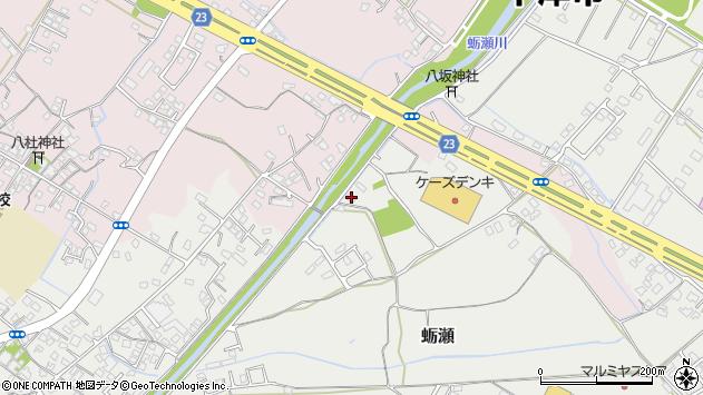 大分県中津市蛎瀬1027周辺の地図