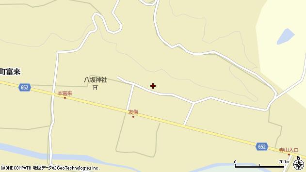大分県国東市国東町富来1036周辺の地図