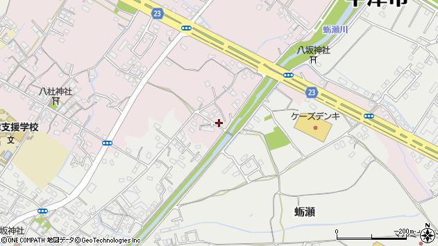 大分県中津市大塚516周辺の地図