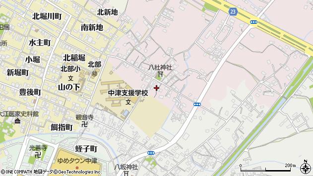 大分県中津市大塚66周辺の地図