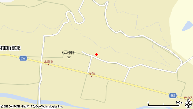 大分県国東市国東町富来1030周辺の地図