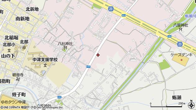 大分県中津市大塚539周辺の地図
