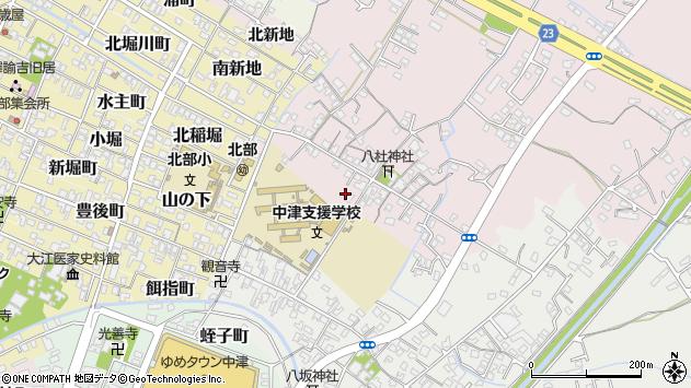 大分県中津市大塚57周辺の地図