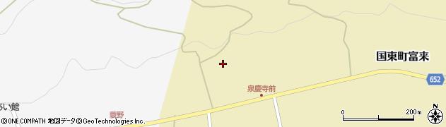 大分県国東市国東町富来1884周辺の地図