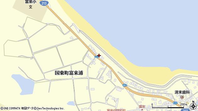 大分県国東市国東町富来浦1045周辺の地図