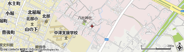 大分県中津市大塚91周辺の地図