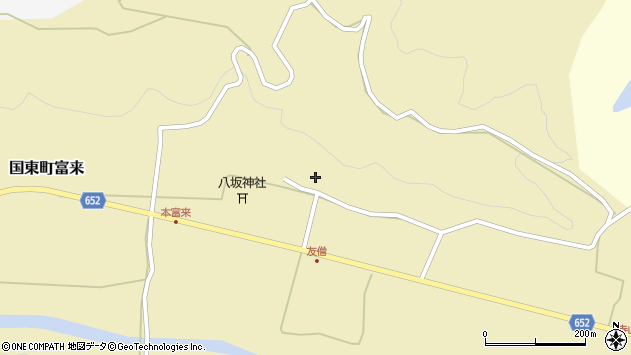 大分県国東市国東町富来1000周辺の地図
