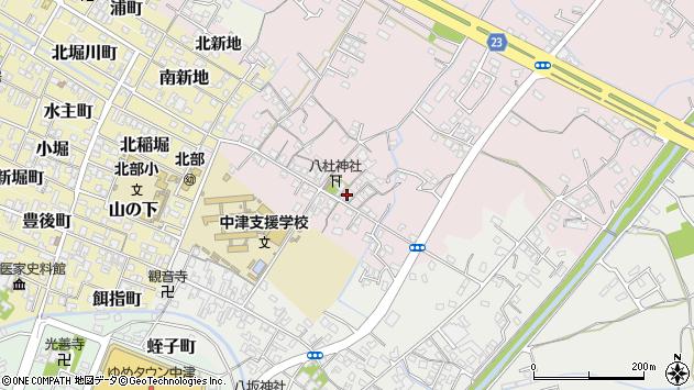 大分県中津市大塚92周辺の地図