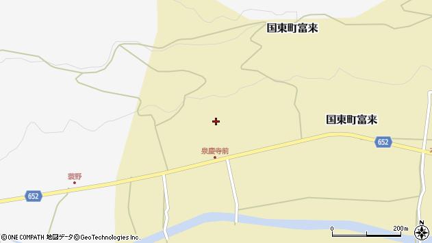 大分県国東市国東町富来1896周辺の地図