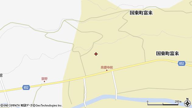 大分県国東市国東町富来1891周辺の地図
