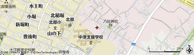大分県中津市大塚53周辺の地図