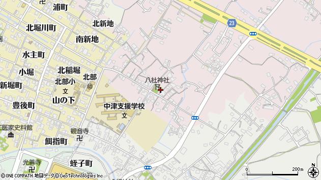 大分県中津市大塚95周辺の地図