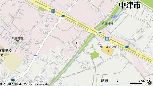大分県中津市大塚508周辺の地図