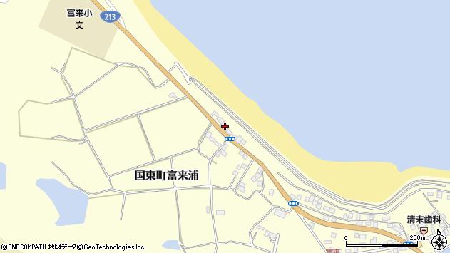 大分県国東市国東町富来浦1019周辺の地図