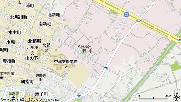 大分県中津市大塚89周辺の地図