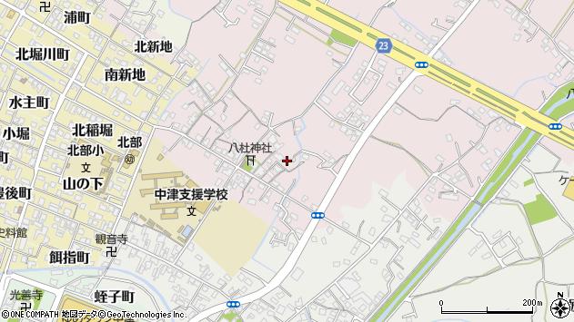 大分県中津市大塚85周辺の地図
