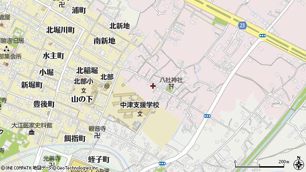 大分県中津市大塚54周辺の地図
