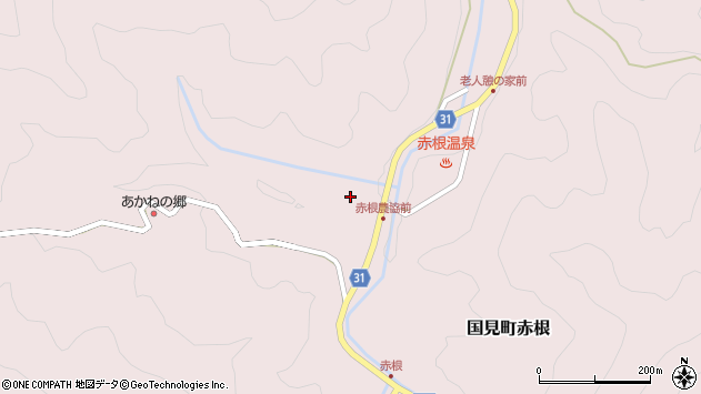 大分県国東市国見町赤根2121周辺の地図