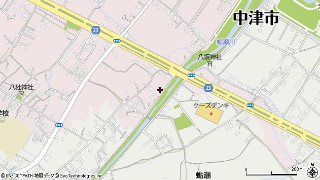 大分県中津市大塚505周辺の地図