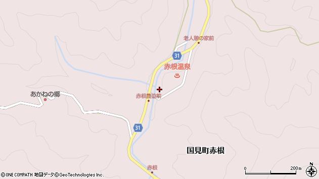 大分県国東市国見町赤根227周辺の地図