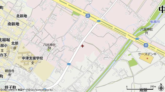 大分県中津市大塚469周辺の地図