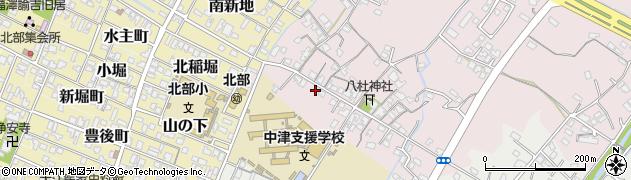 大分県中津市大塚45周辺の地図