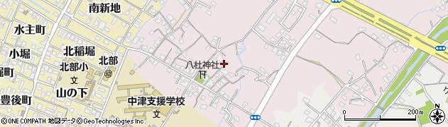 大分県中津市大塚99周辺の地図