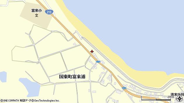 大分県国東市国東町富来浦943周辺の地図