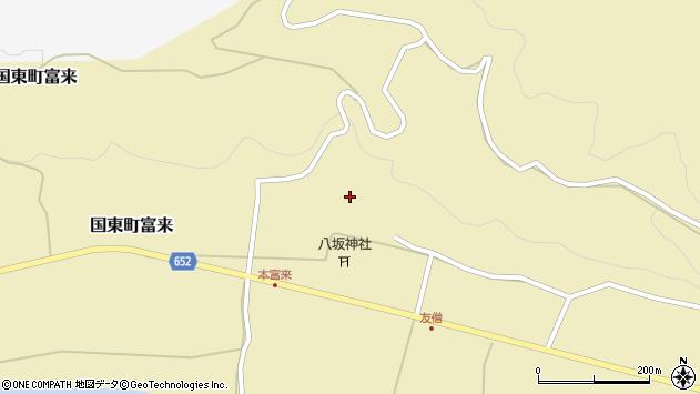 大分県国東市国東町富来892周辺の地図
