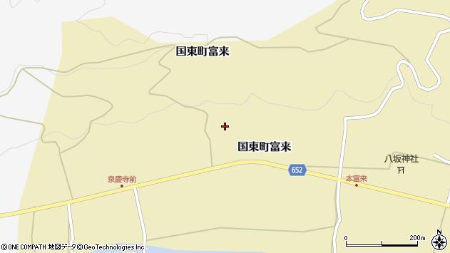 大分県国東市国東町富来1701周辺の地図